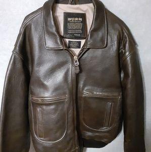 Sporty's Pilot Shop leather jacket
